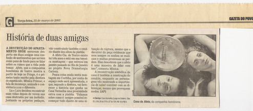 Gazeta do Povo - 25/03/2003