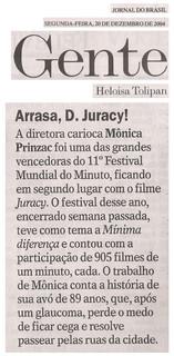 Jornal do Brasil - 20/12/2004
