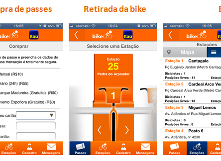 Como usar as bicicletas do Itaú?