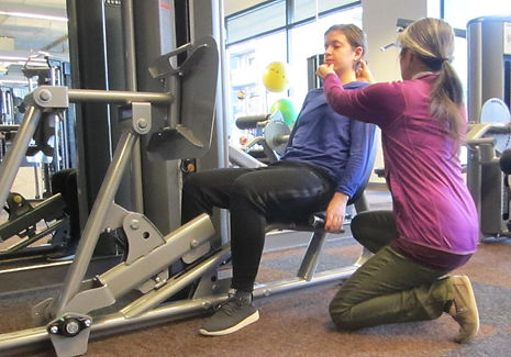 Postural re-education during exercise