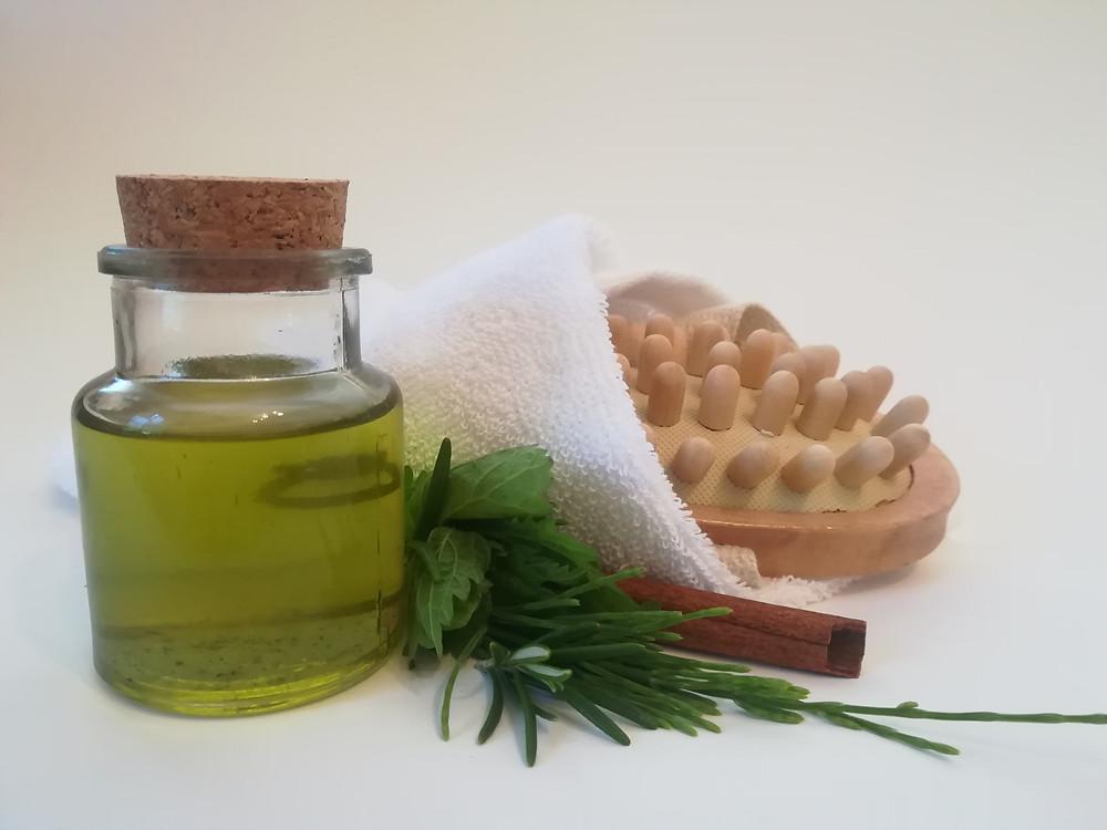 Massageöl Ackerschachtelhalm Zinnkraut