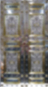 Tabernakeltueren der Ischler Pfarrkirche St. Nikolaus-gefertigt von Engelbert Schodterer