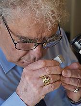 Prof. Leopold Rössler - Gemmologe, Goldschmiedemeister, Edelsteinexperte