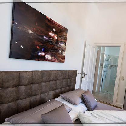 Galerie-Apartment REFUGIUM - Schlafzimmer