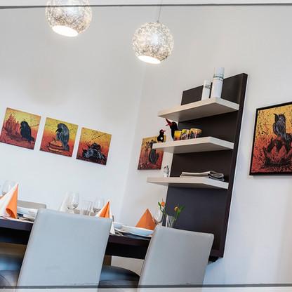 Galerie-Apartment REFUGIUM - Wohnzimmer