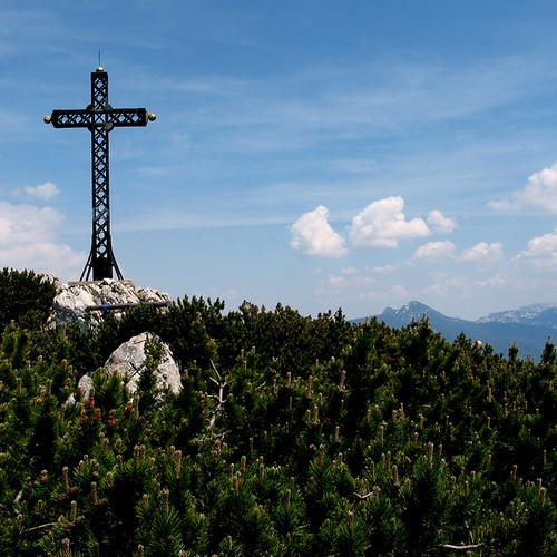 Katrin - Gipfelkreuz