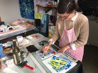 Monoprinting Studio Workshop