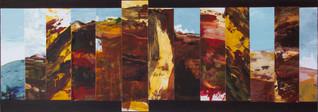 Te Henga Burning # 1 : Landscape Subdivision Series