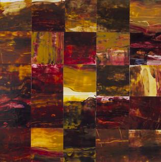 Forest Burning # 2 : Landscape Subdivision Series
