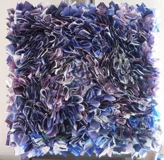 Blue Purple : Playing with Paper Series