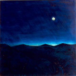Full Moon East Light : Night Sky Series