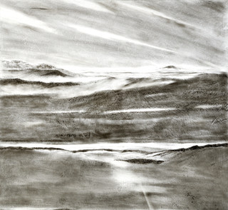Skyscape : Stacked Skyscapes Series detailand Graphite # 1 Detal