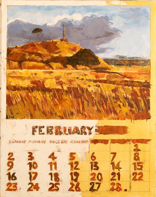 February : Calendar Series