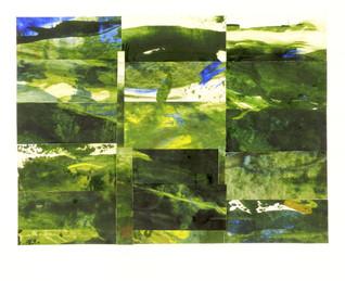 Blue Yellow : Landscape Subdivision Series :