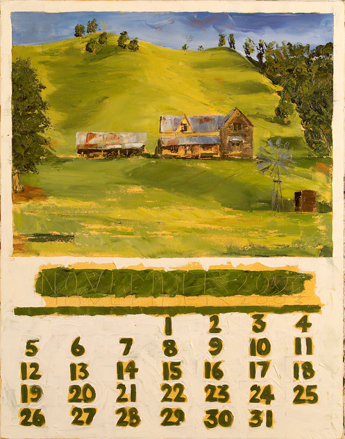 October: Calendar Series