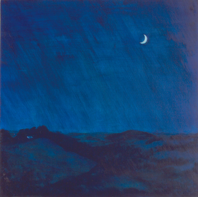 Crescent Moon : Night Sky Series
