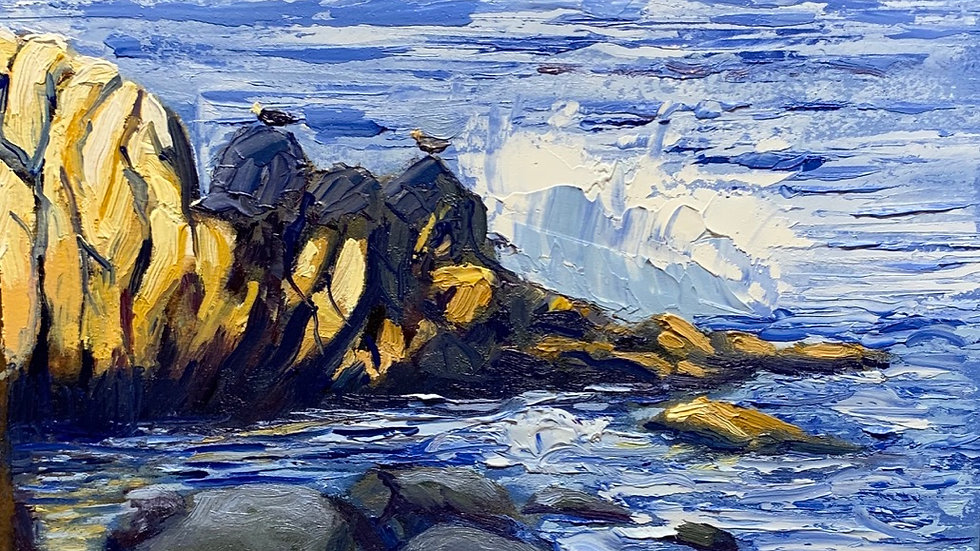 Monterey Bay (Print)