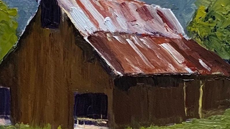 Gibson Canyon Barn
