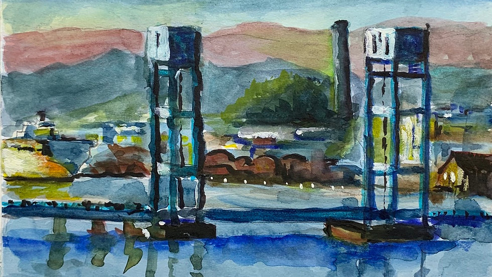 Mare Island Bridge (Print)