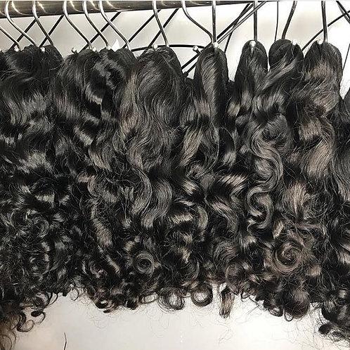 Brazilian Human Hair Wavy, 65cm, 1 piece with 100 grams