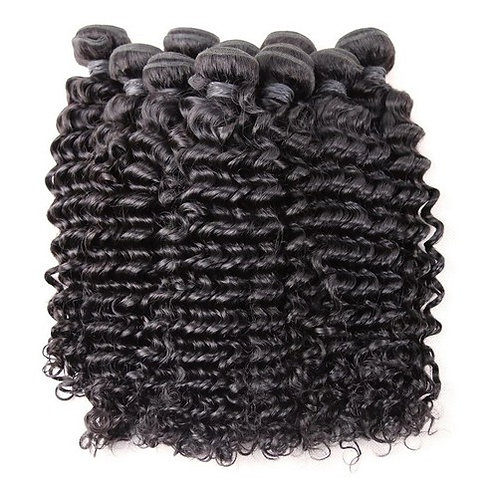 Brazilian Human Hair Curly, 50cm 1 piece with 100 grams in total