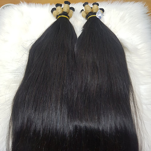 Straight Brazilian Human Hair, 60cm, 1 piece with 100 grams in total