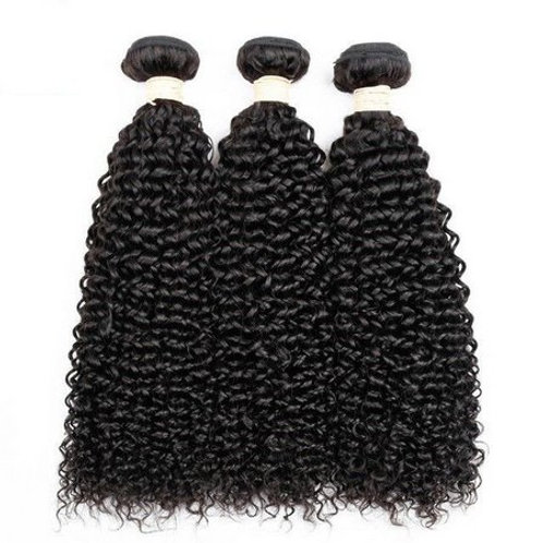Brazilian Human Hair Curly, 40cm 1 piece with 100 grams in total