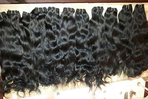 Indian Human Hair Wave, 65cm, 1 piece with 100 grams in total