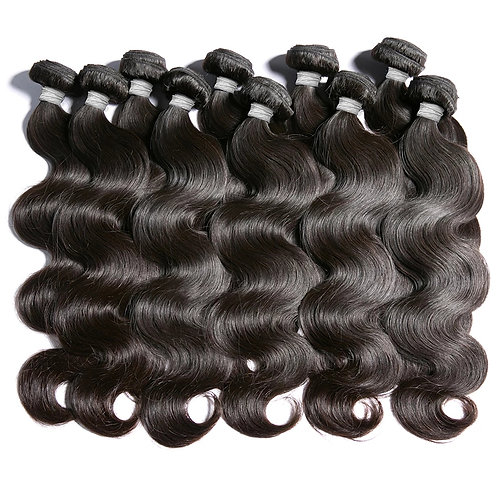 Brazilian Human Hair Wavy, 60cm, 1 piece with 100 grams in total