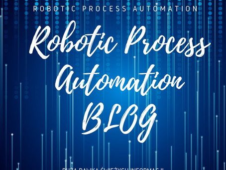 Robotic Process Automation BLOG