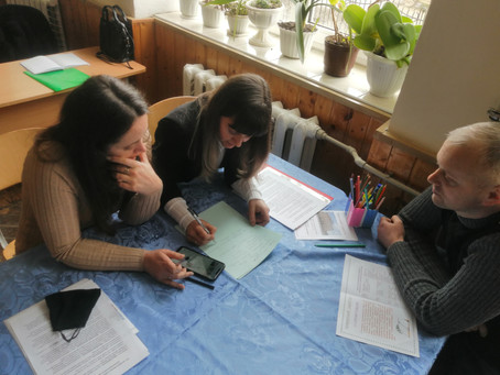 12 березня  на базі  ліцею відбувся семінар –практикум для вчителів географії Чудейської ТГ