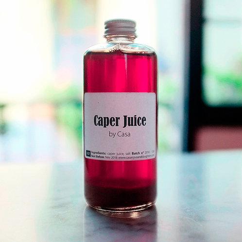 Caper juice by Casanova 200ml