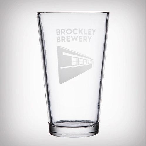 Brockley Brewery Pint Glass