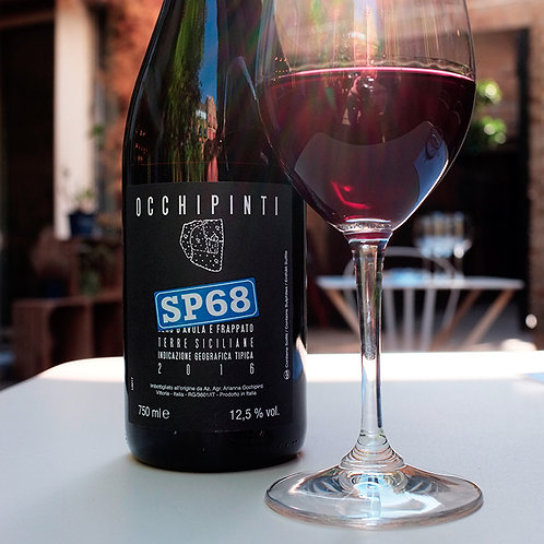 SP68 Rosso - 2018 (red wine, natural)