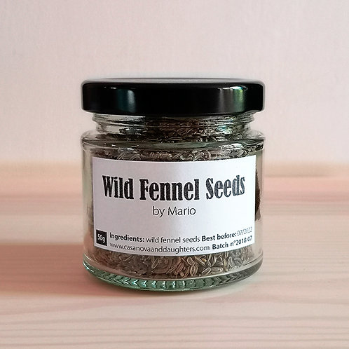 Wild fennel seeds by Mario 50gr