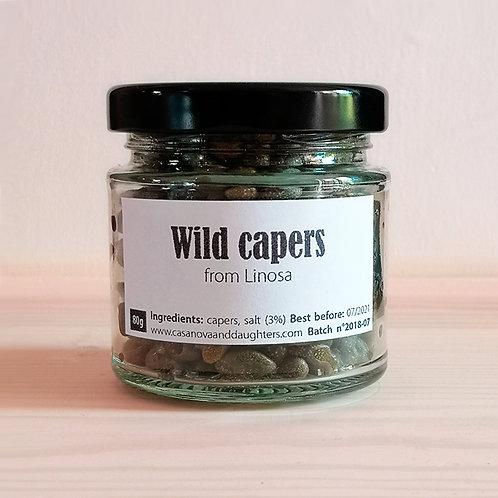 Capers in salt 80gr