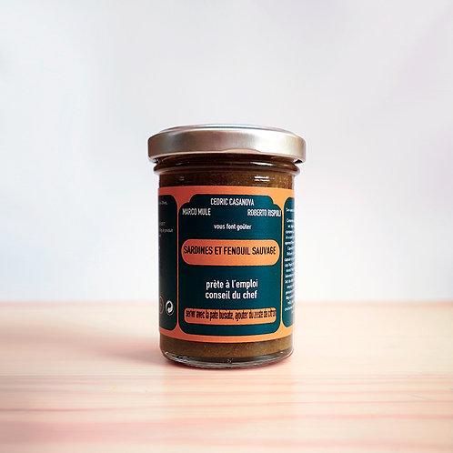 Sardine and wild fennel sauce 90gr