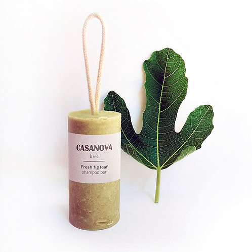 Shampoo bar - fresh fig leaf