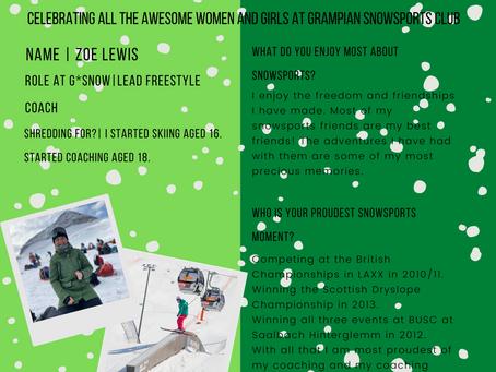 Celebrate G*Snow Women and Girls!