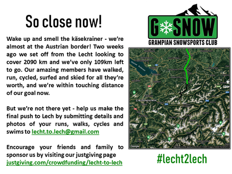 Lecht2Lech Challenge.....the final push