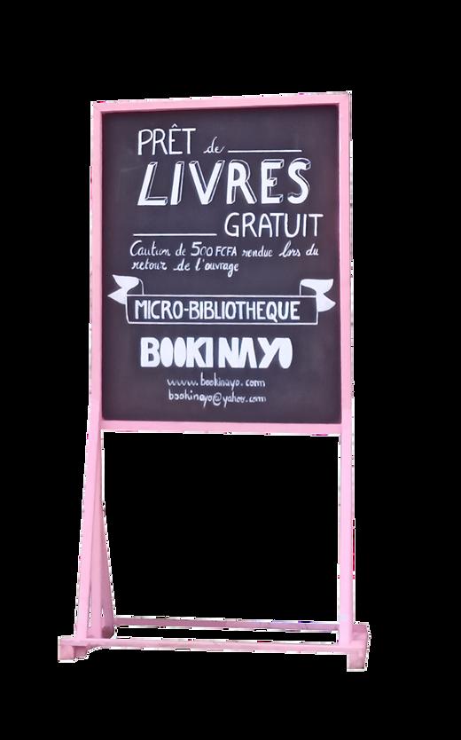 panneau_bookinayo_rose_imprimerie_bastos