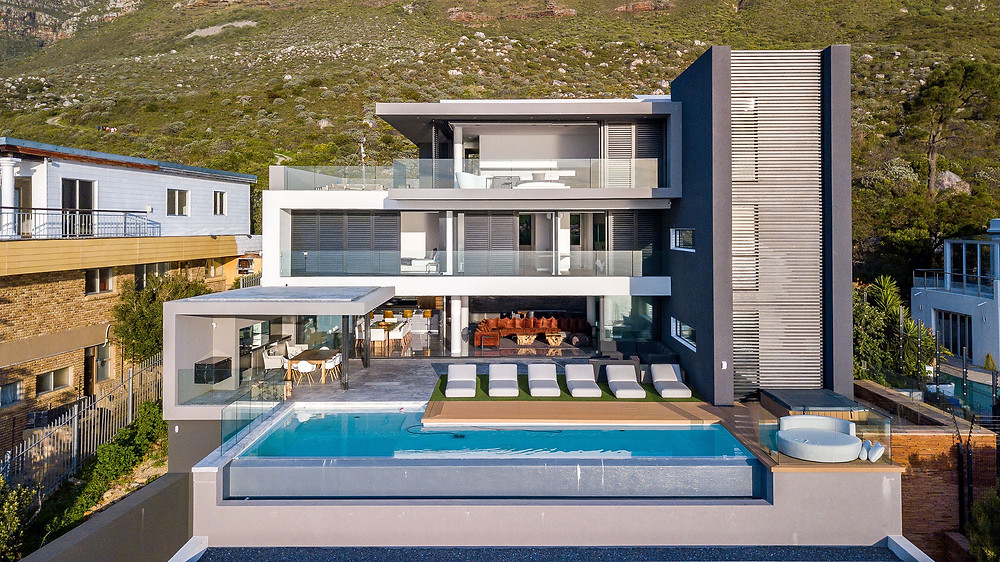 Aerial Property Photographer of Home in Cape Town for Estate Agent