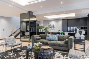 professional interior I photographed of luxury penthouse apartment in Cape Town for a real estate agent. Property has magnificent views