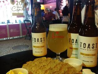 Toast, a cerveja maturada  no conceito de economia circular