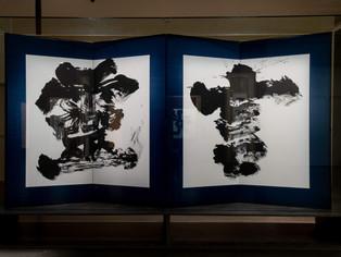 Caligrafia japonesa em exposição em São Paulo
