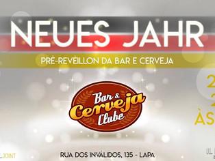 Site de descontos Bar e Cerveja promove pré Réveillon e lança seu QG no Il Piccolo Biergarten