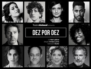 Dez monólogos formam uma peça online que poderá ser vista, em episódios, gratuitamente