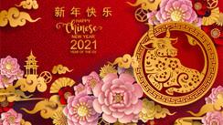 Virada de ano no calendário chinês no dia 12 de fevereiro começa vigência do signo Boi de Metal