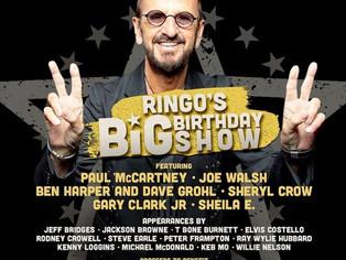 Ringo Starr faz live para comemorar seus 80 anos