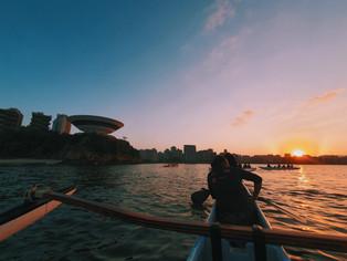 Destaque na prática da canoa havaiana, Niterói sedia primeiro simpósio do esporte